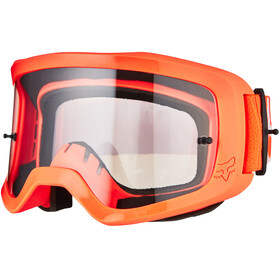 Fox Main II Race Brille fluorescent orange/clear